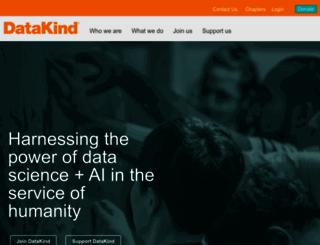 datakind.org screenshot