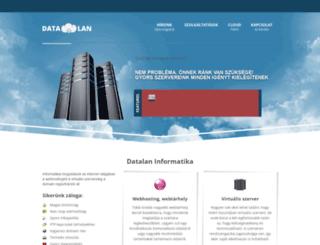datalan.hu screenshot