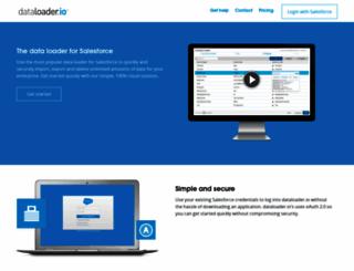 dataloader.io screenshot
