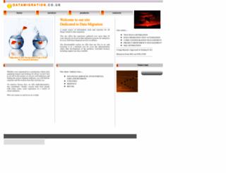 datamigration.co.uk screenshot