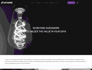 datamine.com screenshot