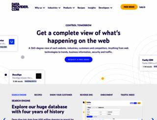 dataprovider.com screenshot