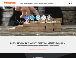 dataratas.fi screenshot