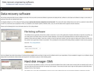 datarecoveryengineer.com screenshot