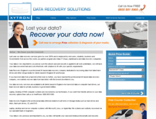datarecoveryengland.com screenshot