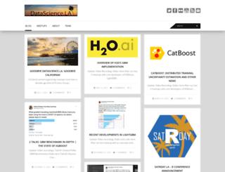datascience.la screenshot