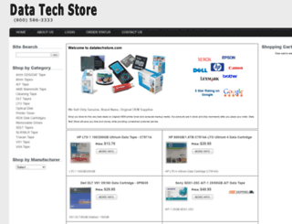 datatechstore.com screenshot
