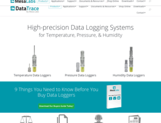 datatrace.mesalabs.com screenshot