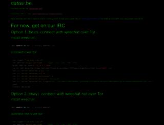 datavibe.net screenshot