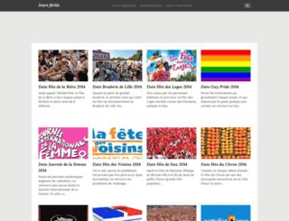 dateducalendrier.com screenshot