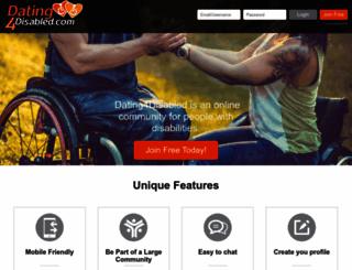 dating4disabled.com screenshot