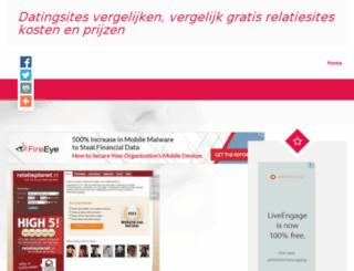 datingsites-vergelijken.com screenshot