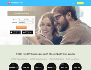 datingwithhiv.org screenshot