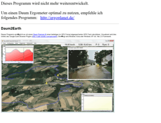 daum2earth.wunderwuzi.net screenshot