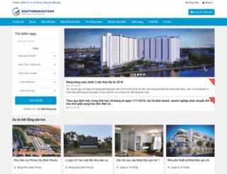 dautunhadat24h.com screenshot