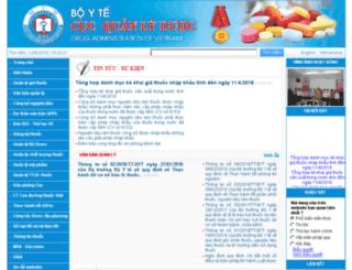 dav.gov.vn screenshot