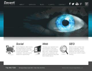 davantidigital.com screenshot