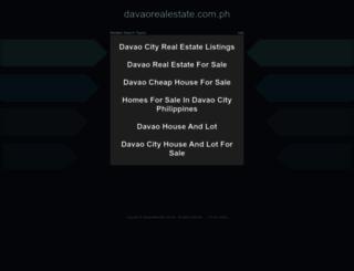 davaorealestate.com.ph screenshot