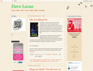 dave-lucas.blogspot.fr screenshot