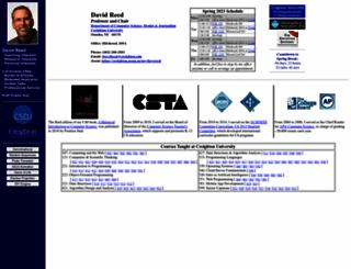 dave-reed.com screenshot