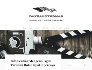 daveandthomas.net screenshot