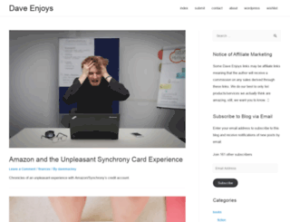 daveenjoys.com screenshot