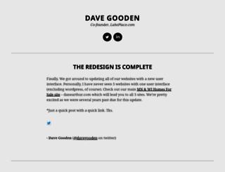 davegooden.com screenshot