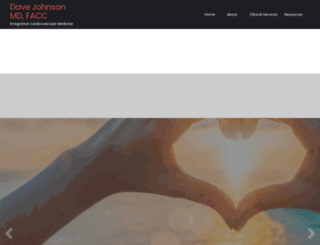 davejohnsonmd.com screenshot