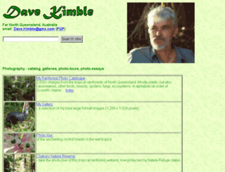 davekimble.net screenshot