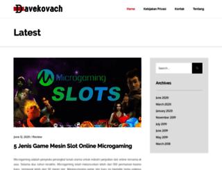 davekovach.com screenshot