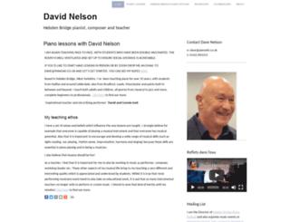 davenelson.co.uk screenshot