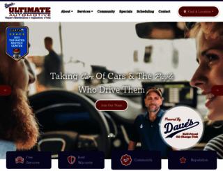 davesultimateautomotive.com screenshot