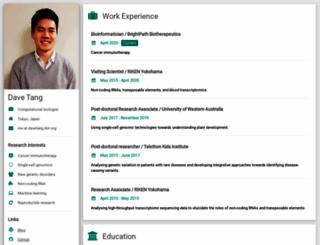 davetang.org screenshot