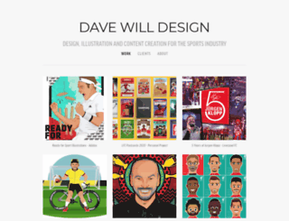 davewilldesign.com screenshot