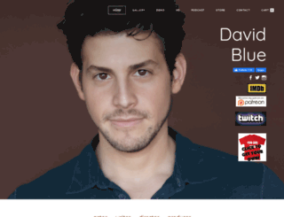 david-blue.com screenshot
