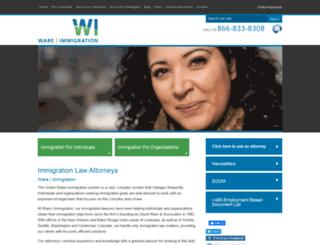 david-ware.com screenshot