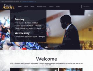 davidabioye.org.ng screenshot