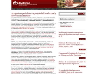 davidbravo.es screenshot