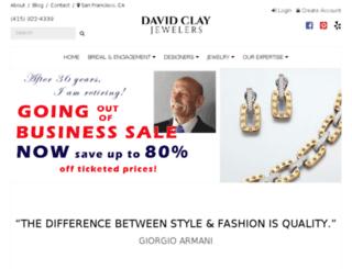 davidclayjewelers.com screenshot