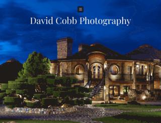 davidcobbphotography.photoshelter.com screenshot