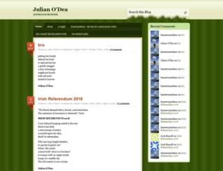 davidcollard.wordpress.com screenshot