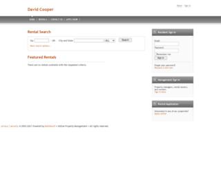 davidcooper.managebuilding.com screenshot