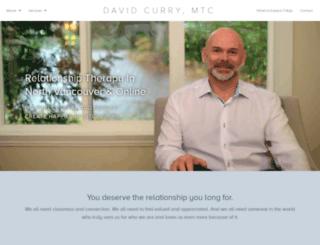 davidcurry.ca screenshot