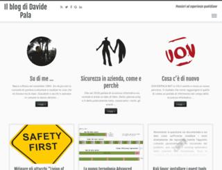 davidepala.net screenshot