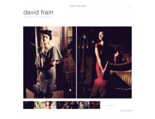 davidfrain.net screenshot