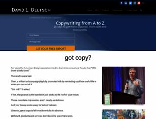 davidldeutsch.com screenshot