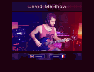 davidmeshow.com screenshot