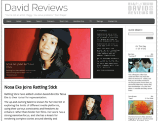 davidreviews.com screenshot