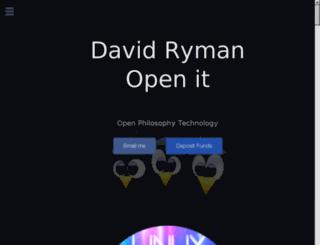davidryman.com screenshot