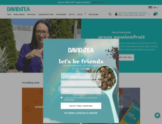 davidstea.com screenshot